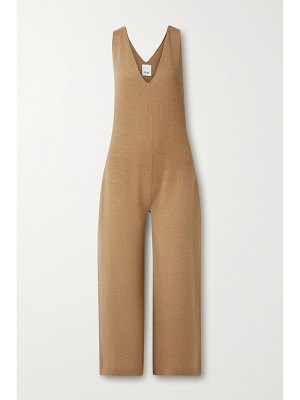 ALLUDE wool and cashmere-blend jumpsuit