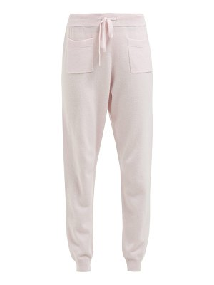 ALLUDE wool blend track pants