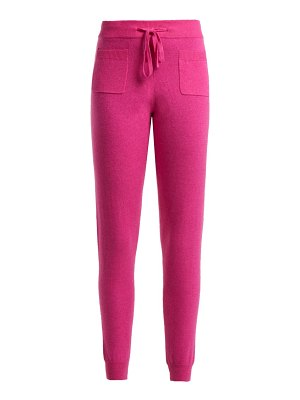 ALLUDE Wool-blend track pants