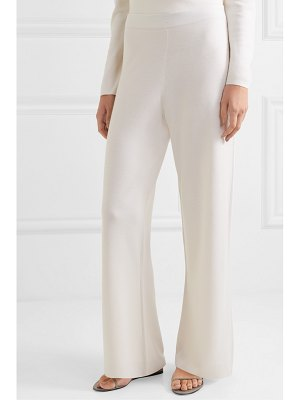 ALLUDE wool wide-leg pants