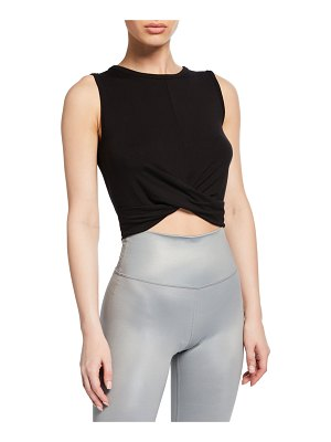 Alo Yoga Cover Cropped Tank Top