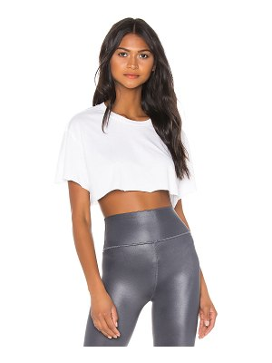 Alo Yoga cropped short sleeve top