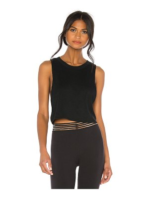 Alo Yoga heat wave crop tank