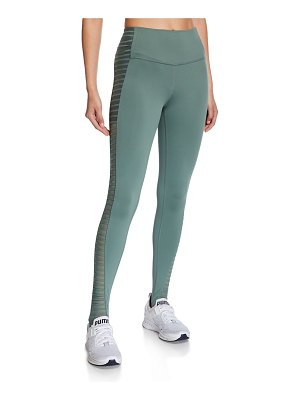 Alo Yoga Prism High-Waist Active Leggings w/ Foot Bands