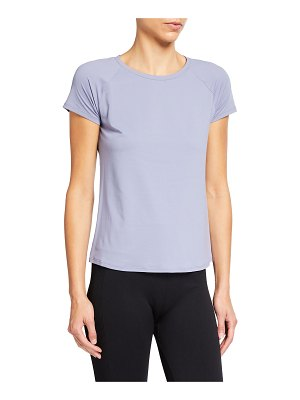 Alo Yoga Pulse Short-Sleeve Active Tee