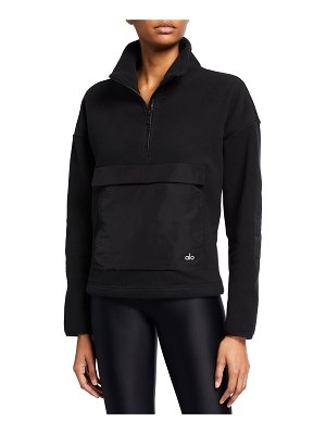Alo Yoga Blackcomb Fleece Pullover w/ Front Pocket