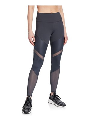 Alo Yoga Sheila High-Waist Mesh Leggings