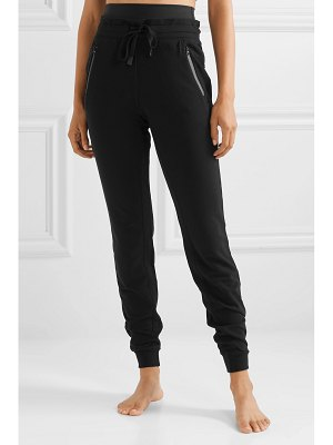 Alo Yoga uptown stretch modal and cotton-blend jersey track pants