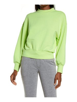 Alternative alana drop shoulder french terry pullover