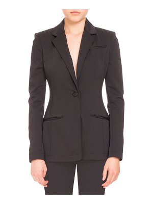 Altuzarra Acacia One-Button Blazer