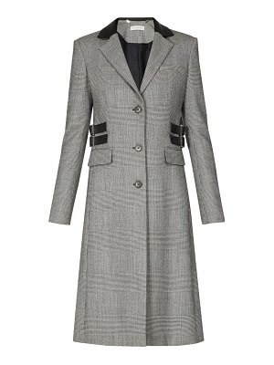 Altuzarra annie single breasted prince of wales check coat