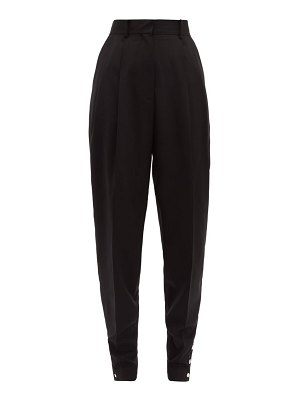 Altuzarra atomica wool blend tapered trousers