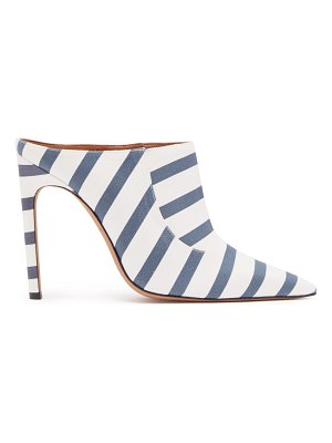 Altuzarra Davidson Striped Cotton Mules