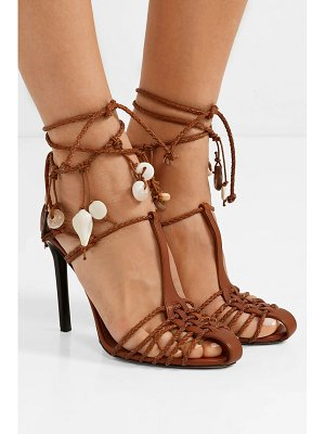 Altuzarra embellished braided leather sandals