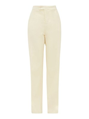 Altuzarra higbie high-rise wool-blend wide-leg trousers