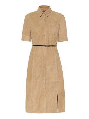 Altuzarra kieran suede dress