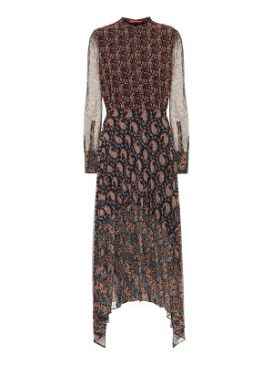 Altuzarra lakshmi asymmetric midi dress