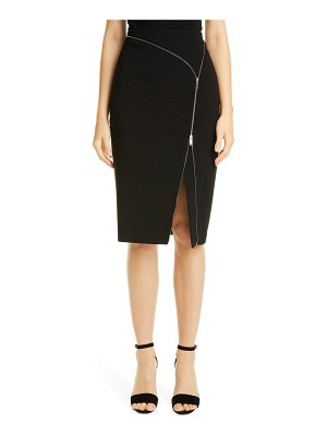 Altuzarra zip detail crepe pencil skirt