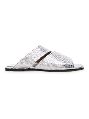 ALUMNAE Slashed Slide Sandals