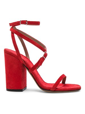 ALUMNAE Strappy Ankle Wrap Sandals