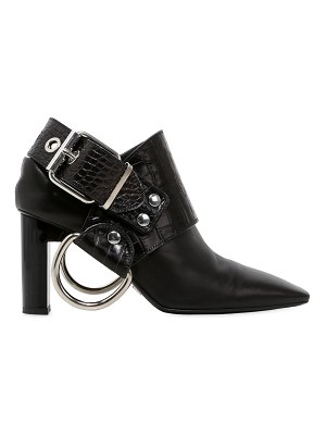 Alyx 100mm sling ring leather ankle boots
