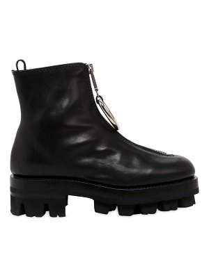 Alyx 40mm tank ring leather ankle boots
