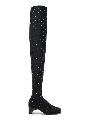 Alyx Embellished Blondie Thigh High Boots