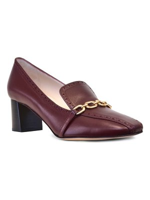 Amalfi by Rangoni serge chain loafer pump