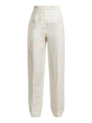 AMANDA WAKELEY High-rise tapered trousers