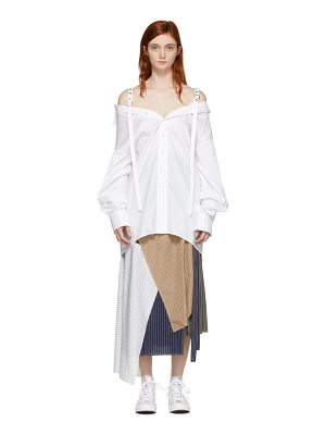 Ambush Exclusive White Off-the-shoulder Shirt