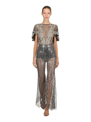 AMEN COUTURE Beaded & sequined jumpsuit