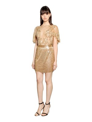 AMEN COUTURE Embroidered tulle dress