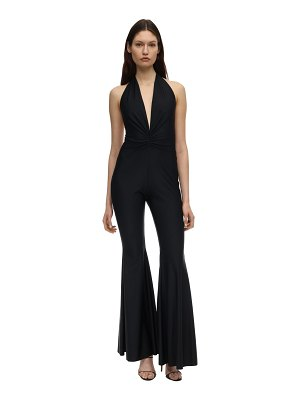 AMEN Draped lycra jumpsuit