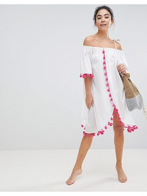 America & Beyond Bardot Beach Dress