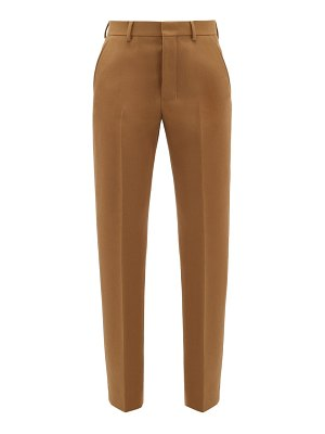 Ami tailored wool-twill trousers