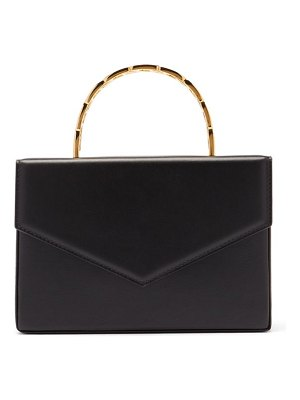 AMINA MUADDI pernille envelope-flap leather box bag