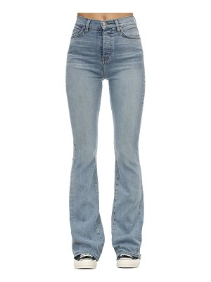 Amiri Flared stretch denim stack jeans