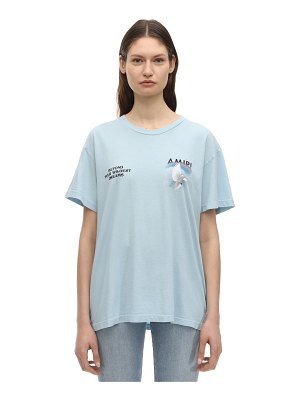 Amiri Logo printed cotton jersey t-shirt