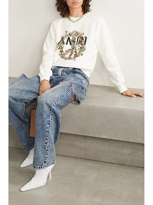 Amiri printed cotton-jersey sweatshirt
