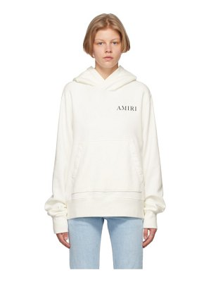 Amiri white psychedelic fitted hoodie