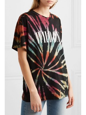 Amiri wild ones printed tie-dyed cotton-jersey t-shirt