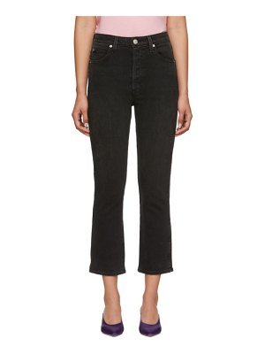 AMO Chloe Crop Piping Jeans