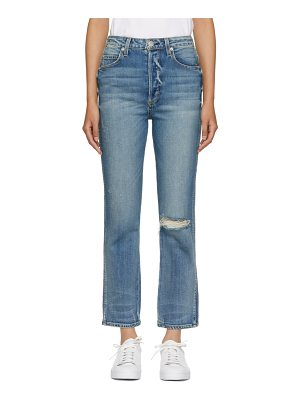 AMO Chloe Cropped High-Rise Jeans