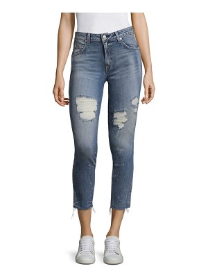 AMO Cropped & Distressed Jeans