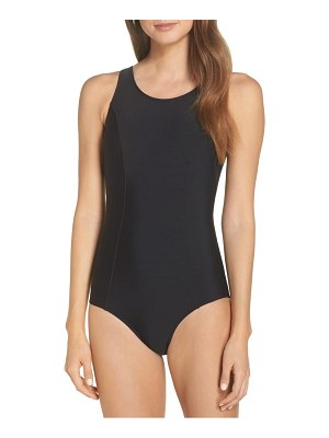 AMOENA rhodes pocketed one-piece swimsuit