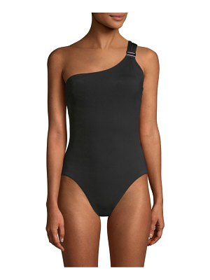 Amoressa by Miraclesuit Eclipse Gemini One-Shoulder One-Piece Swimsuit