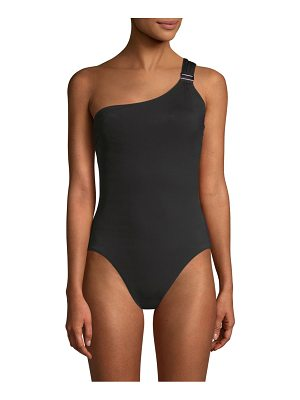 Amoressa eclipse gemini one-shoulder one-piece swimsuit