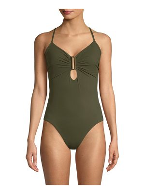 Amoressa eclipse northern cross one-piece swimsuit