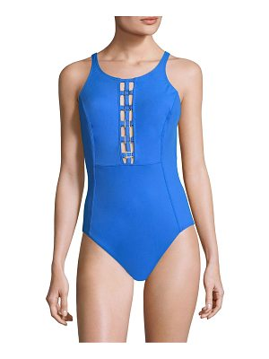Amoressa open back one-piece swimsuit