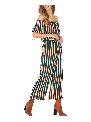 AMUSE SOCIETY earn your stripes jumpsuit